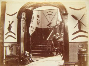 The Hall and staircase.  May 1895